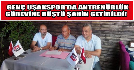 Genç Uşakspor Şahin'e Emanet!
