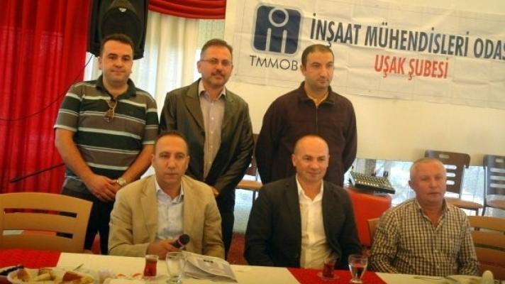 İnşaat Mühendisleri Odası'nın Aylık Toplantısına Ali Erdoğan da Katıldı!