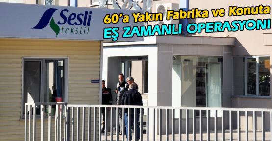 Jandarma ve Polisten Gülen Cemaati'ne  Şafak Operasyonu!