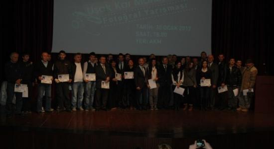 Kar Manzarası Fotoğrafçıları Ödüllendirildi