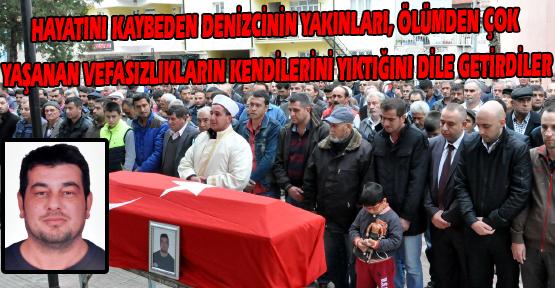 Kayıp Denizcinin Cenazesi Bir Yıl Sonra Memleketi Uşak'ta Toprağa Verildi!