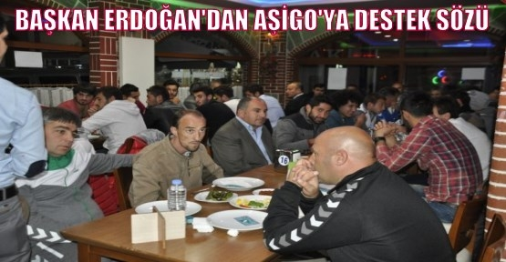 Konya Etli Ekmek'ten Uşak Sportif Futbol Takımına Moral Yemeği!