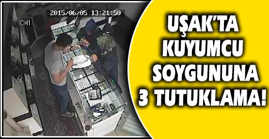 Kuyumcu Soygunu, Güvenlik Kamerasıyla Aydınlatıldı!