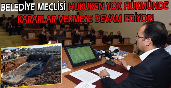 Mahkeme Kararına Uymayıp Kılıf Arayan Belediye Meclisi, Yine Yok Hükmünde Bir Karara İmza Attı!