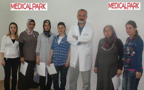 Medical Park Uşak Hastanesi nin Doğuma Hazırlık Kursu Tamamlandı.