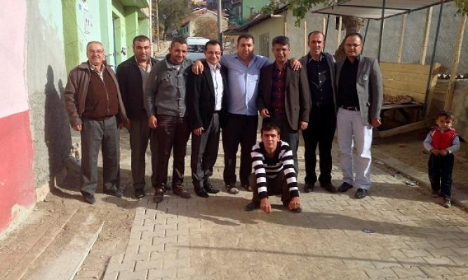 Mehmet Altay Mahalle Ziyaretinde Üniter Devlet Vurgusu Yaptı!
