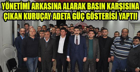 MHP İl Başkanı Kuruçay; Cemaatin Partimizdeki Uzantıları Yalan Haberlerle Algı Oluşturmaya Çalışıyor Ama Başaramadılar!