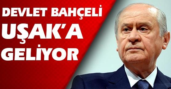 MHP Lideri Devlet Bahçeli Uşak'a Geliyor!