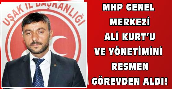 MHP Uşak İl Teşkilatı Kapatıldı!
