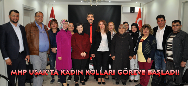 MHP Uşak Kadın Kolları'nda yeni yönetim ve yeni başkan belirlendi!