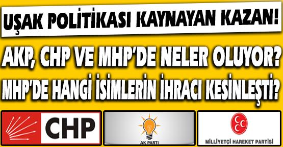 MHP'de İhraçlar Kesinleşti. CHP Kongre Sürecine Gidiyor,AKP'de Başarısızlığa Fatura Kesilemiyor. (Kulis Haber)