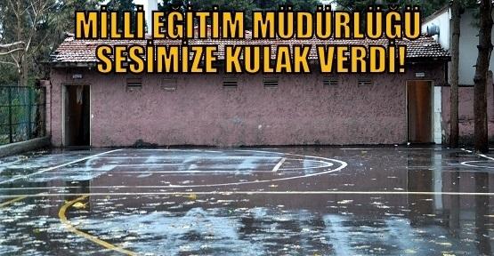 Milli Eğitim Müdürlüğü'nden Aybey İlkokulu'nun Tuvalet Sorununa Çözüm!