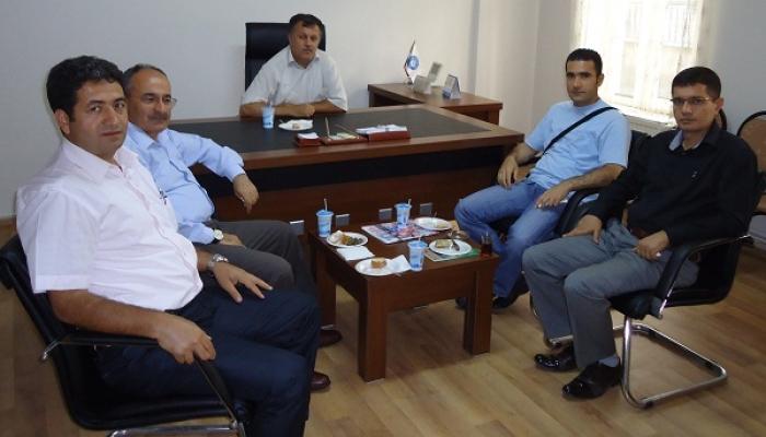 Milli Eğitim Müdürü Bulut'tan Türk Eğitim Sen'e Ziyaret