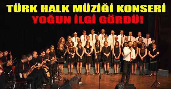 Musiki Derneği Korosundan Uşaklılara Türk Halk Müziği  Ziyafeti!