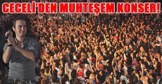 Mustafa Ceceli Üniversitelileri Coşturdu!