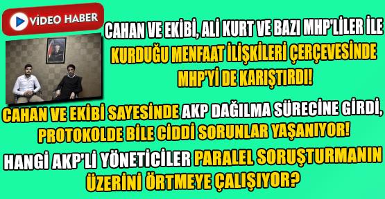 Nurullah Cahan ve Ekibi; AKP'den Sonra, Uşak Protokolü ve İlçe Belediyelerini de Birbirine Düşürdü!