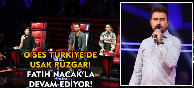 O Ses Türkiye'de yarışan Fatih Nacak, Uşaklılardan aldığı destekle yoluna devam ediyor!