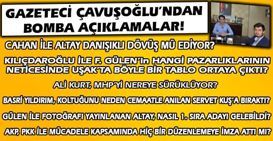 Olası 1 Kasım Seçimleri Öncesi Uşak ve Ankara'ya Genel Bakış!