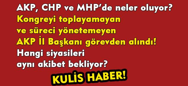 Önce Vali, ardından Başsavcıvekili ve FETÖ savcısı, şimdi de AKP İl Başkanı alındı! Uşak'ta neler oluyor?