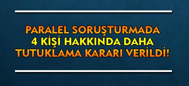 Paralel Devlet Yapılanmasına Yönelik Soruşturmada Uşak'ta 4 Kişi Tutuklandı!