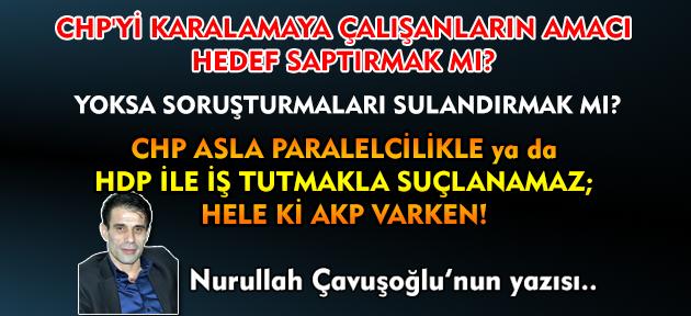 Paralelciler devlet içine yerleşirken ve açılımlar yapılırken iktidarda CHP vardı sanırım!