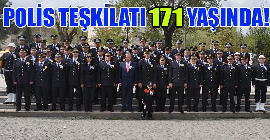 Polis Haftası Etkinlikleri Çelenk Töreni İle Sona Erdi!