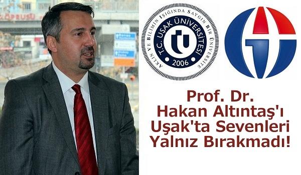 Prof. Dr. Hakan Altıntaş Onuruna Kahvaltı Verildi