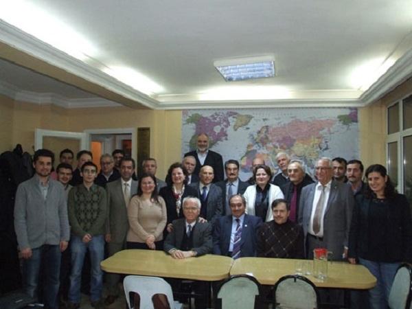 Rektör Prof. Dr. Sait Çelik İstanbul'daki Uşaklılar Ve Karahallılar Vakıflarını Ziyaret Etti