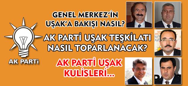Sadece kendilerini değil Ak Parti'yi de bitirmişler Uşak'ta, ama yeni yüzleşiliyor!