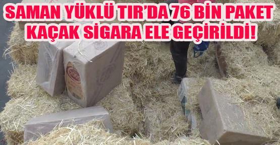 Saman Balyaları Arasında Kaçak Sigaraya 3 Gözaltı!