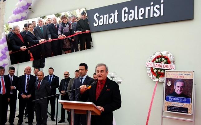 Sanat Galerisi Görkemli Bir Tören ile Açıldı