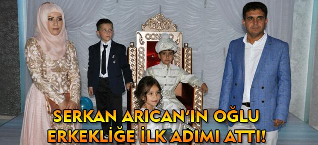 Serkan Arıcan'ın oğlu Göktuğ Han'ın sünnet düğünü MHP'lileri bir araya getirdi!