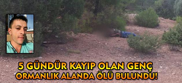 Sivaslı'da kaybolan genç ölü bulundu!