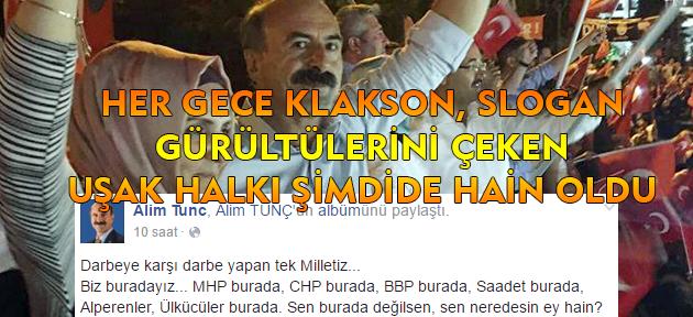 Sonunda bu da oldu! AKP'li vekile göre dün gece meydana inmediyseniz, hainsiniz!