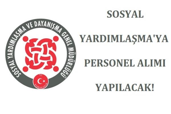 Sosyal Yardımlaşma Vakfı'na 7 Personel Alınacak