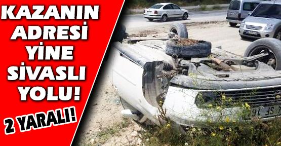 Takla Atan Araçta Bulunan Karı-Koca Yaralandı!