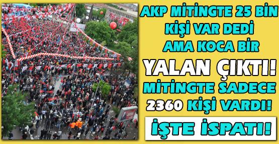 Tayyip Erdoğan'ın Uşak Mitinginde Kaç Kişi Vardı? Üşenmedik; Tek Tek Saydık, Sonuç ŞOK Edecek!
