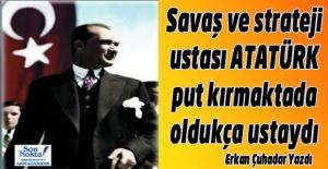 Atatürk'e put diyen putperestleri kendi putlarıyla yüzleştirmek istedim