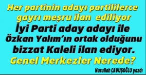 AKP#039;liler AKP adayını, CHP#039;liler...