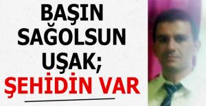 Diyarbakır'dan Uşak'a şehit ateşi düştü!