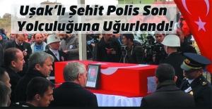 Şehit Polis Nazım Tuncer son yolculuğuna uğurlandı!
