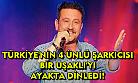 4 ünlü şarkıcı bir Uşaklı'yı ayakta dinledi!