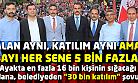 AKP'li Uşak Belediyesi'nden iftar katılımcı sayısına zam!