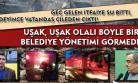 AKP'li Uşak Belediyesi'nin, marka belediyecilikte geldiği son nokta!