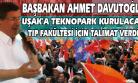 Başbakan Davutoğlu, Uşak'ta 3-0 İçin Söz İstedi!