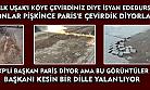 Belediye Başkanı dalga geçer gibi bu görüntülere rağmen Uşak'ı Türkiye'nin Paris'i ilan etti
