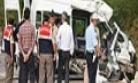 Bilecik Trafik Kazası! Gülümbe Rampası ndaki Kazada  İsmail Arı, Ceza İnfaz Memuru Çağatay Erda ve Mehmet Akdeniz öldü.