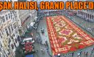 Brüksel'de Çiçeklerden Yapılan Uşak Halısı İlgi Odağı Oldu!