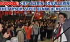 Çavuşoğlu, Yaptığı Coşkulu Konuşmada CHP'lileri Güldürürken Düşündürdü!