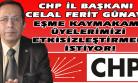 CHP İl Başkanı Eşme Kaymakamı'nı Kınadı!